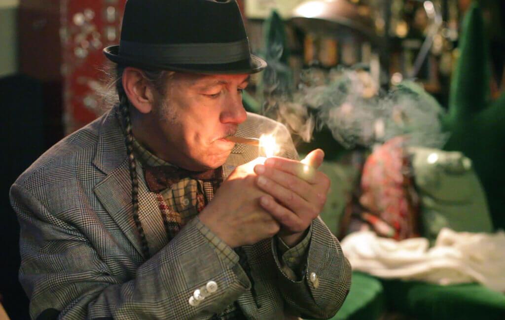 Steve De Angelo y el cannabis