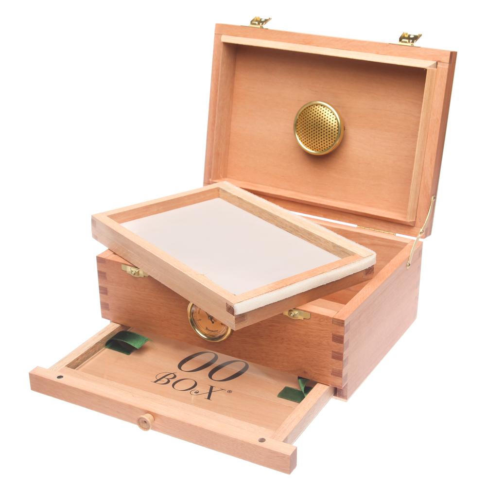 cajas de madera para curado de marihuana