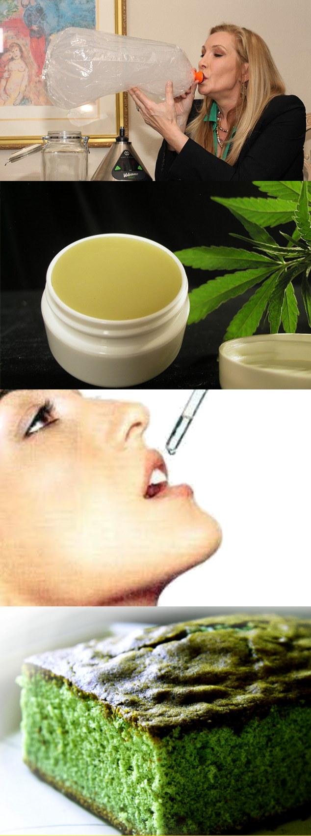 marihuana medicinal vías de administración
