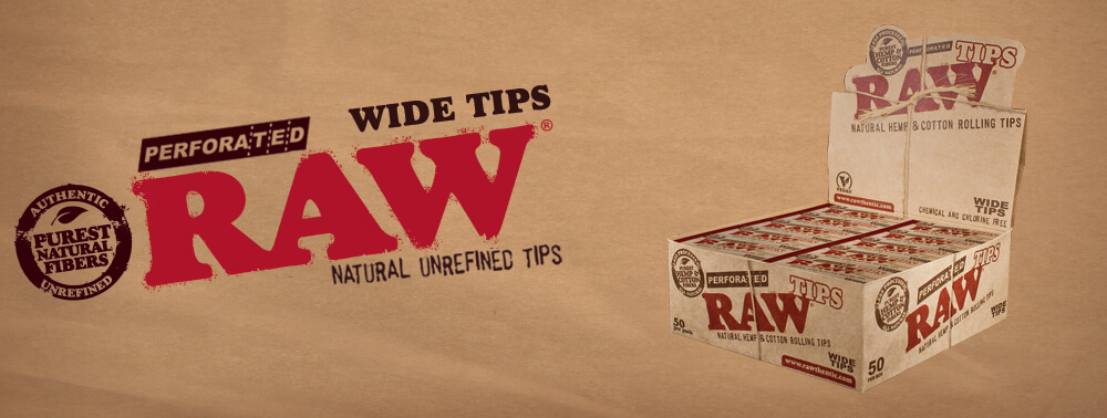 Raw Wide Tips