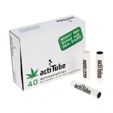 ActiTube Filtros de Carbón Activo para fumar