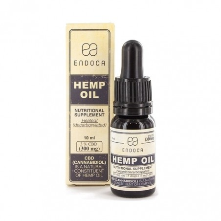 Aceite CBD 3% Endoca Raw 10 ml