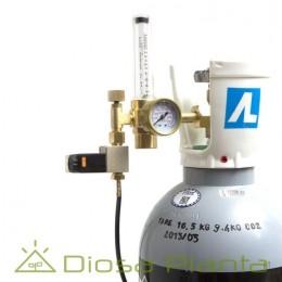 Dosificador de CO2 con electroválvula