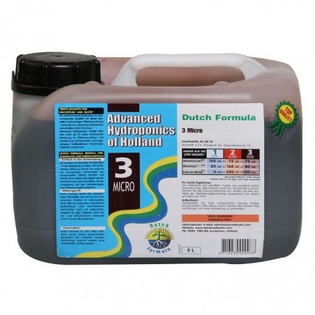 Dutch Formula 3 Micro 5,10 y 25 litros