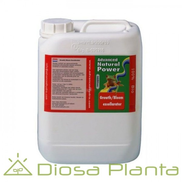 Growth/Bloom Excellarator Advanced Hydroponics 5 litros