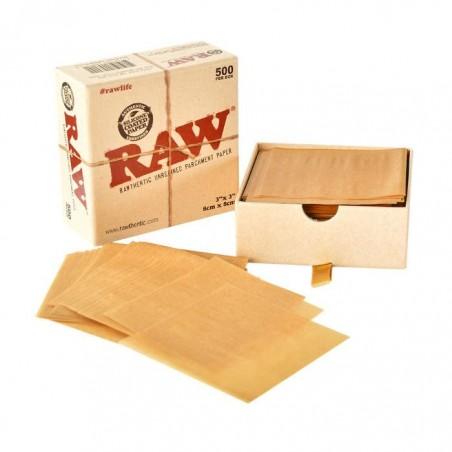 Raw papel de horno para extracciones