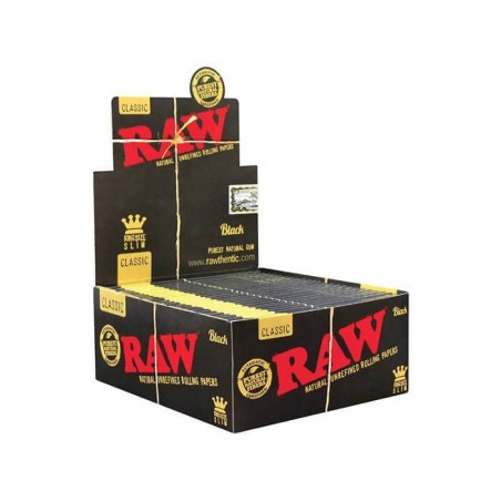 RAW Black King Size