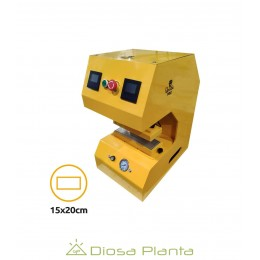 Prensa Qnubu Auto Lion 20 Tn Automática (PLACA 15 X 20 CM)