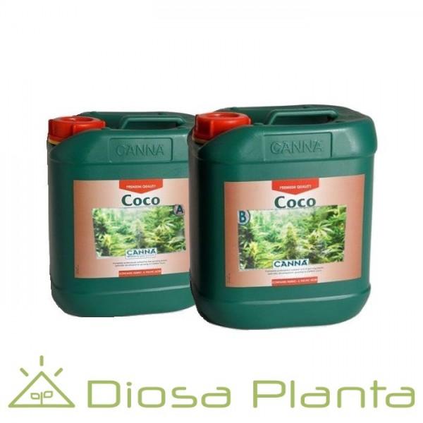 Coco A y B (Canna) de 5 y 10 litros