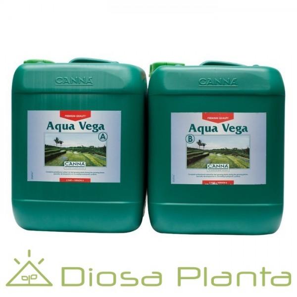 Aqua Vega A y B (Canna) de 5 litros
