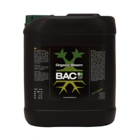 BAC Organic Bloom de 5 y 10 litros
