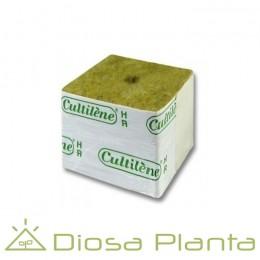 Lana de roca - cubo de 4x4 cm