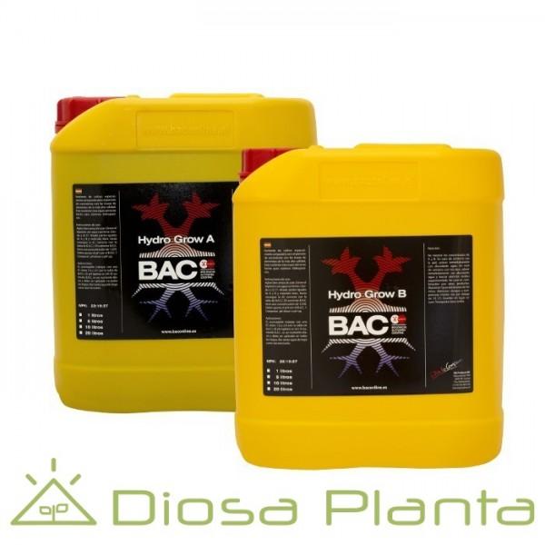 Bac Hydro Grow A y B de 5 litros
