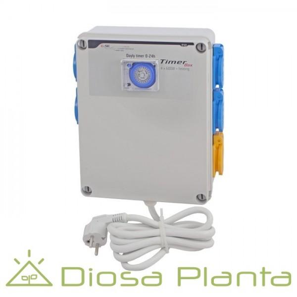 GSE Timer Box II 4x600W + calentador