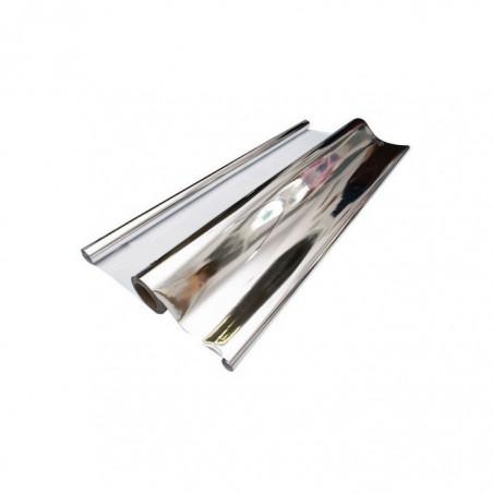 Plástico reflectante plateado OPACO (1x1,20m)