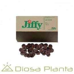 Jiffys - Turba prensada (cajas enteras)