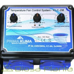 Controlador extracción  intracción + temperatura KLC-2M
