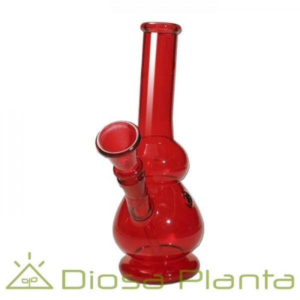 Bong cristal Rojo 18 cm.