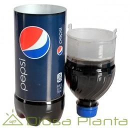 Botella de Pepsi camuflaje