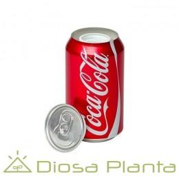 Lata Coca-Cola ocultación