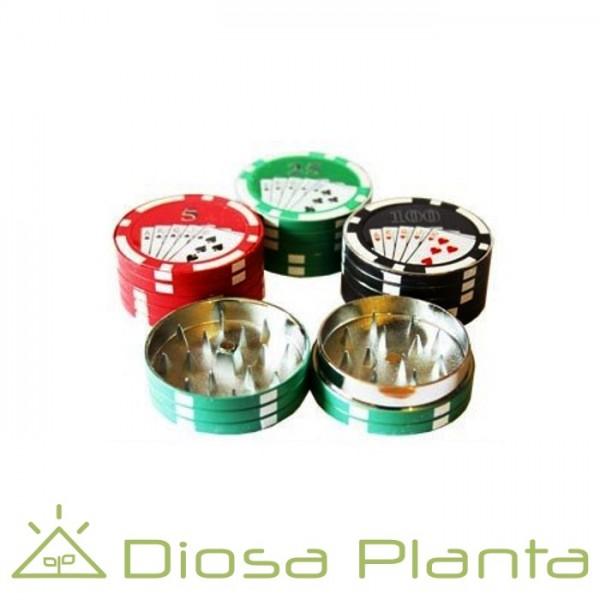 Grinder Poker 2 piezas 4 cm.