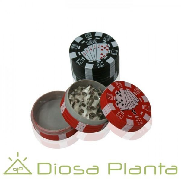 Grinder Polinator Poker aluminio