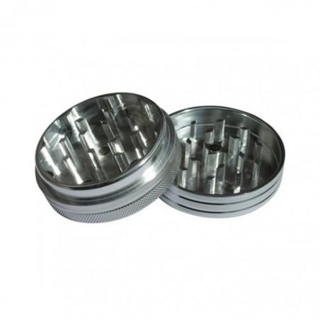 Grinder aluminio magnético 2 piezas