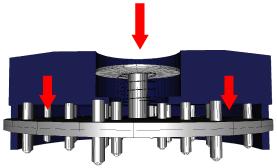 mecanismo vaciado quick grinder