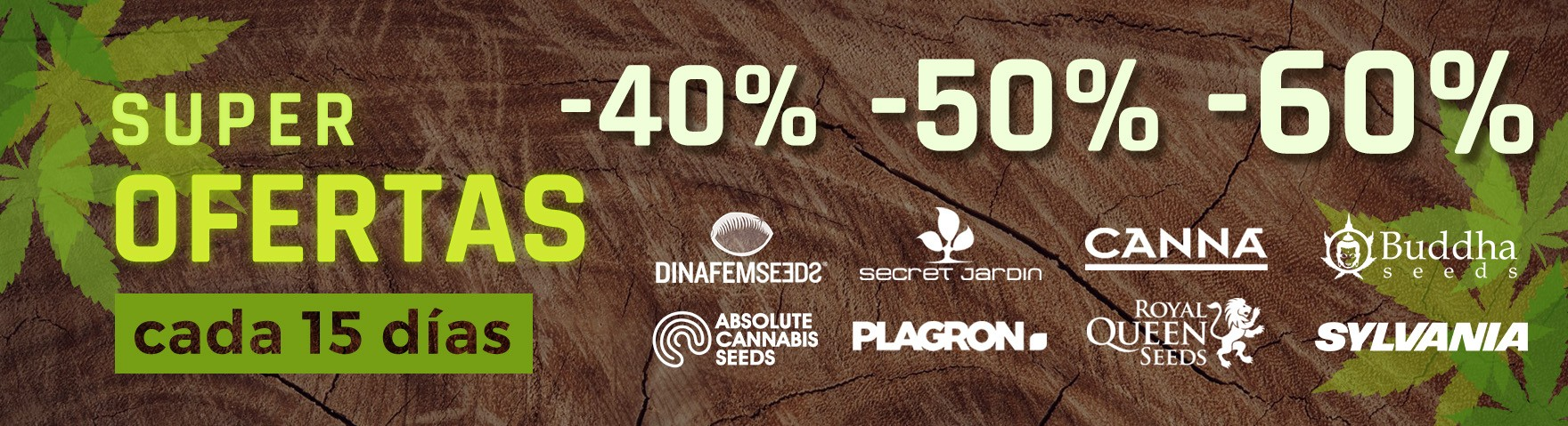 Super ofertas Grow Shop